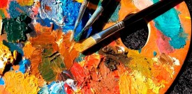 fotografía técnica de pintura